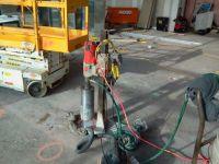 core drilling machine for reinforced concrete boring